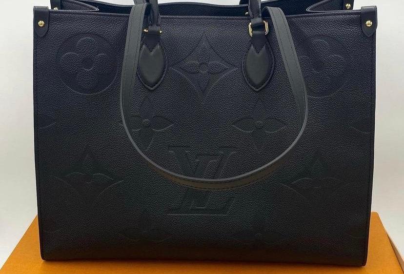 Louis Vuitton On The Go GM Empreinte Tote Bag
