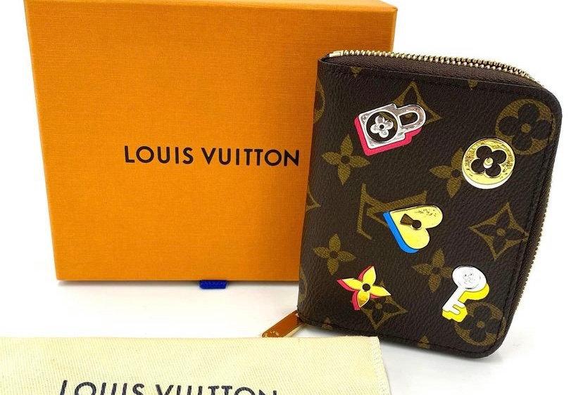 Louis Vuitton Love Lock Capsule Zippy Coin Purse