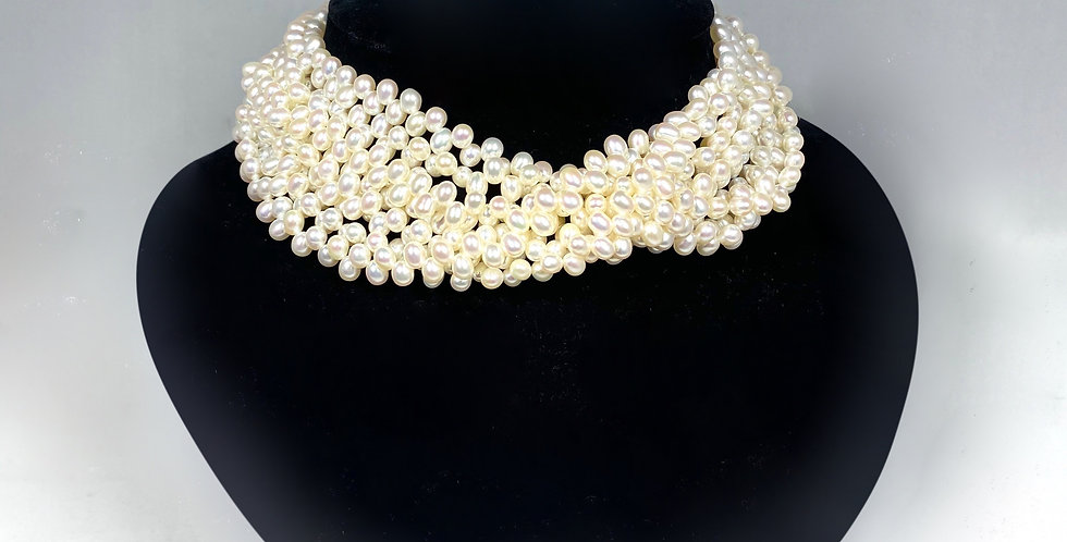 Tiffany & Co. Paloma Picasso Pearl Torsade Necklace