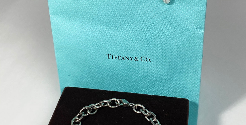 Tiffany & Co 1837 I.D. Bracelet Sterling and Titanium