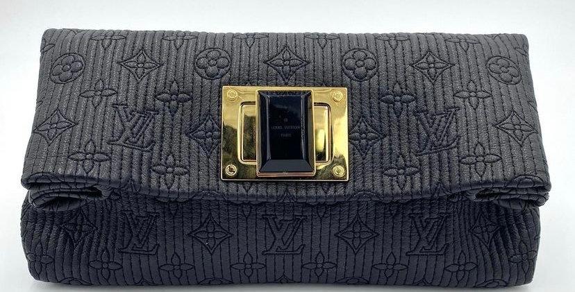 Louis Vuitton Black Empriente Altair Clutch Bag