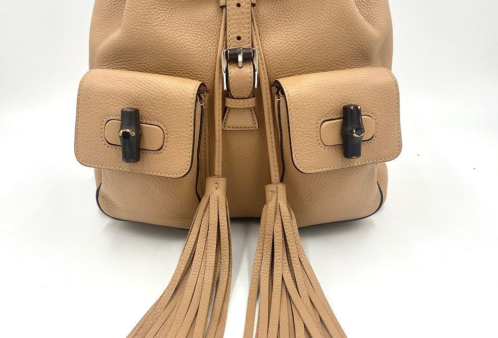 Gucci Bamboo Fringe Backpack