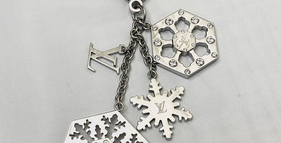 Louis Vuitton Flacon Snowflake Bag Charm