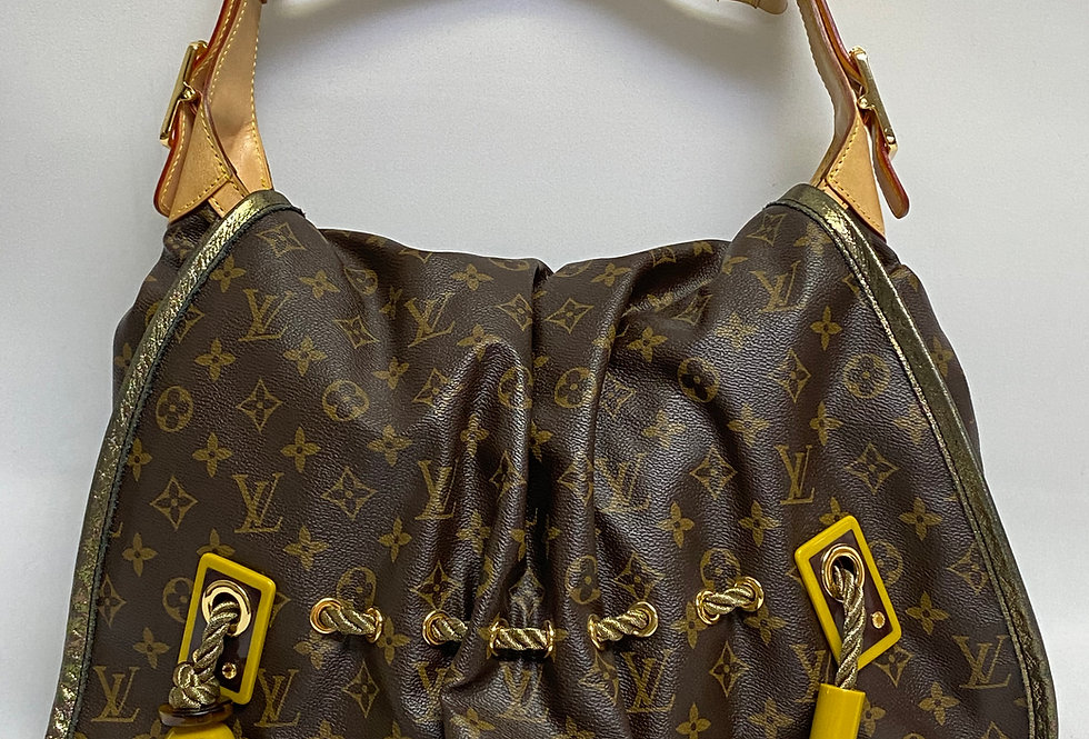 Louis Vuitton Kalahari Handbag Monogram Canvas GM