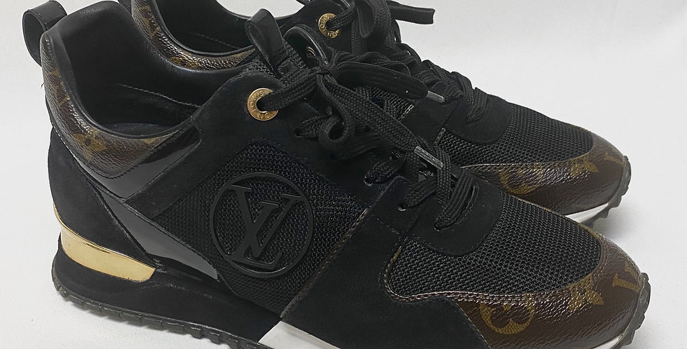 Louis Vuitton Run Away Leather Sneakers