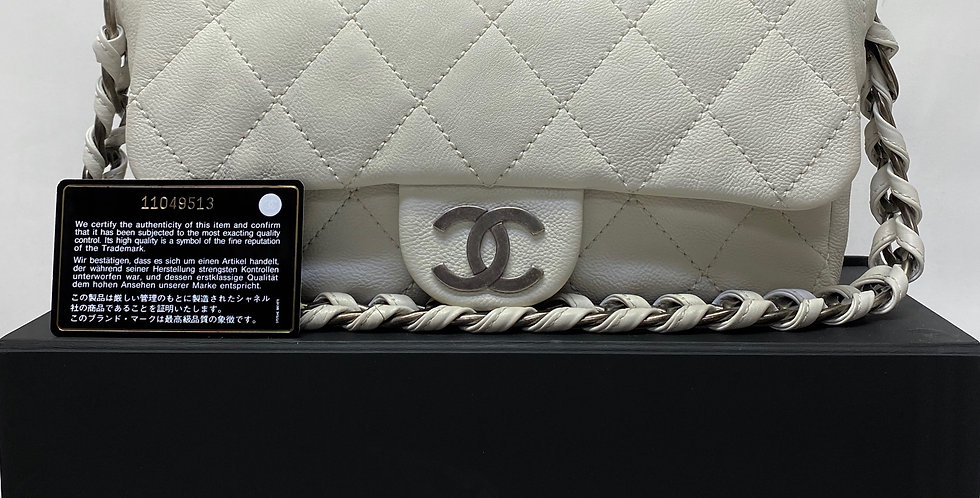 Chanel Ivory Modern Chain Flap Bag