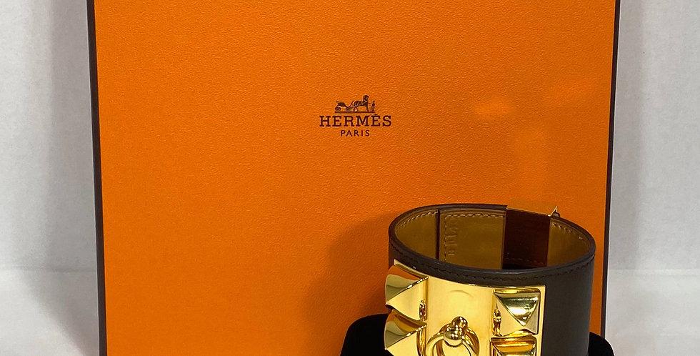 Hermès CDC Collier De Chien Cuff Bracelet