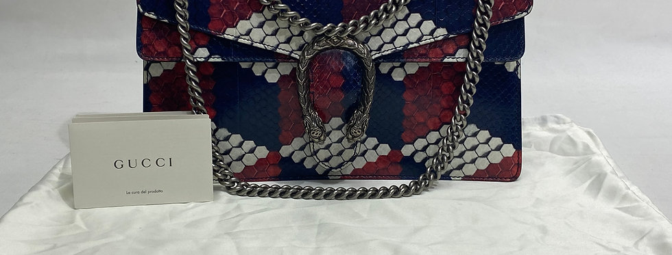 Gucci Python Medium Dionysus Bag