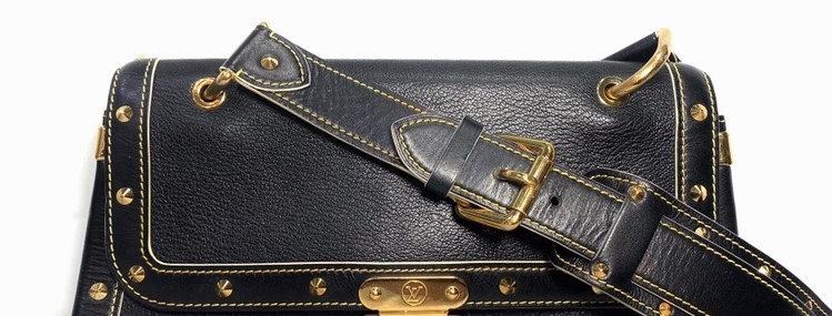 Louis Vuitton Black Leather Suhali Le Talentueux