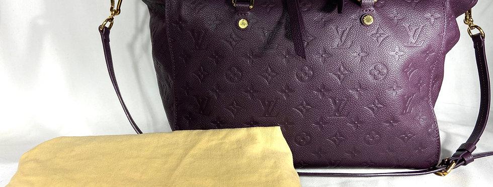 Louis Vuitton Purple Empreinte Leather Lumineuse PM