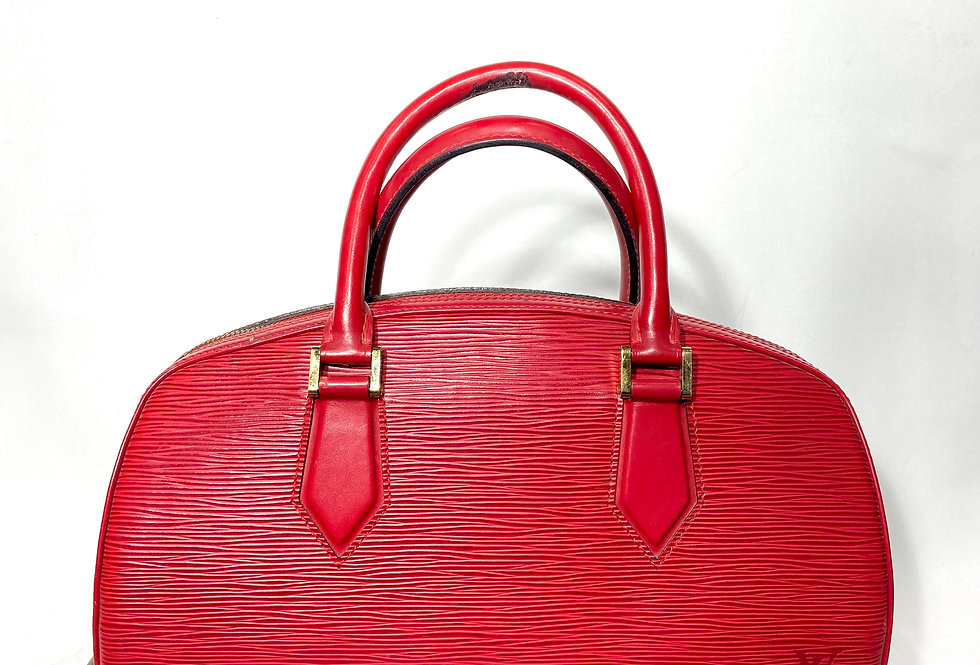 Louis Vuitton Red Epi Jasmin Bag