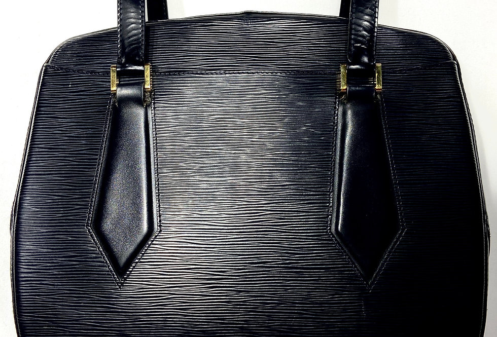 Louis Vuitton Black Epi Leather Voltaire Bag