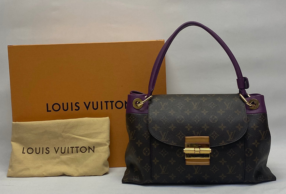 Louis Vuitton Monogram Amythest Olympe Shoulder Bag