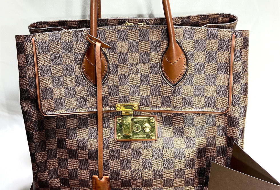 Louis Vuitton Damier Ebene Ascot Bag