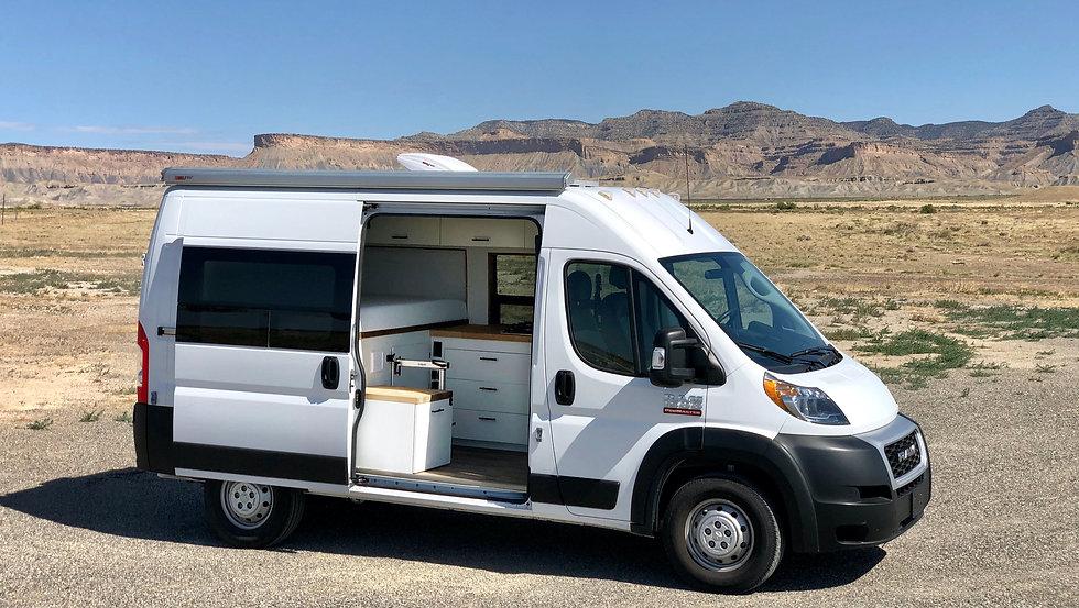 Out There Vans Custom Van Conversions