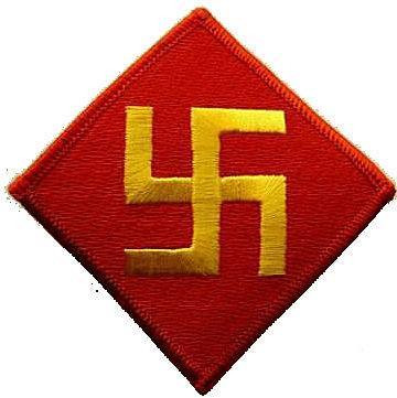 U.S. Army 45th infantry division insignia 1920-1939
