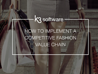 How to implement a competitive fashion value chain?
