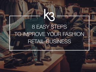 8 Easy Steps To Improve Your Fashion Retail Business