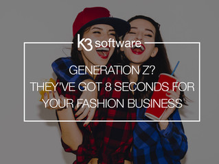Generation Z? They've got 8 seconds for your fashion business