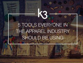 5 Tools Everyone in the Apparel Industry Should Be Using Regularly