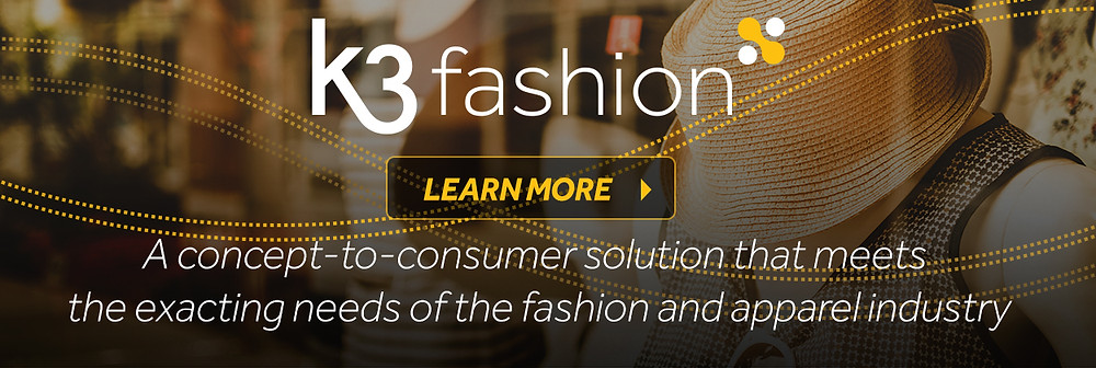 K3 fashion ERP software apparel industry