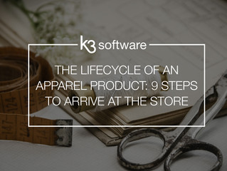 The lifecycle of an apparel product: 9 steps to arrive at the store