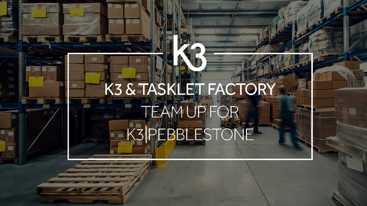 K3 and Tasklet Factory enter partnership to offer extended capabilities on K3|pebblestone