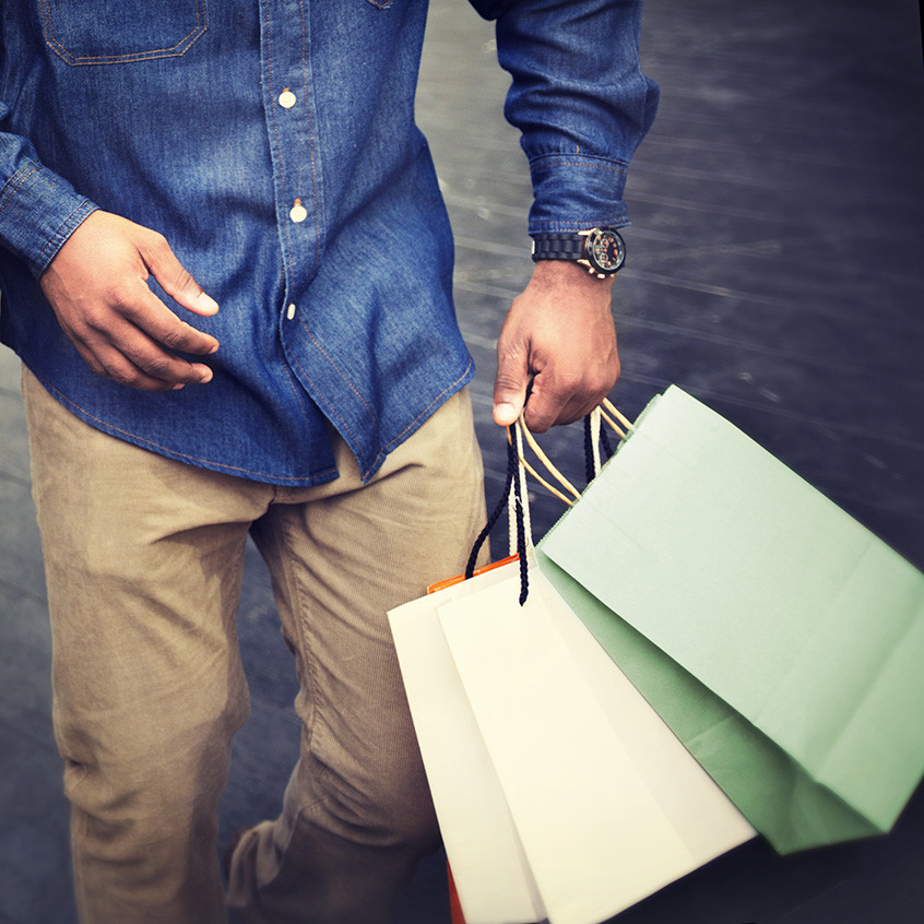 rise of the male shopper