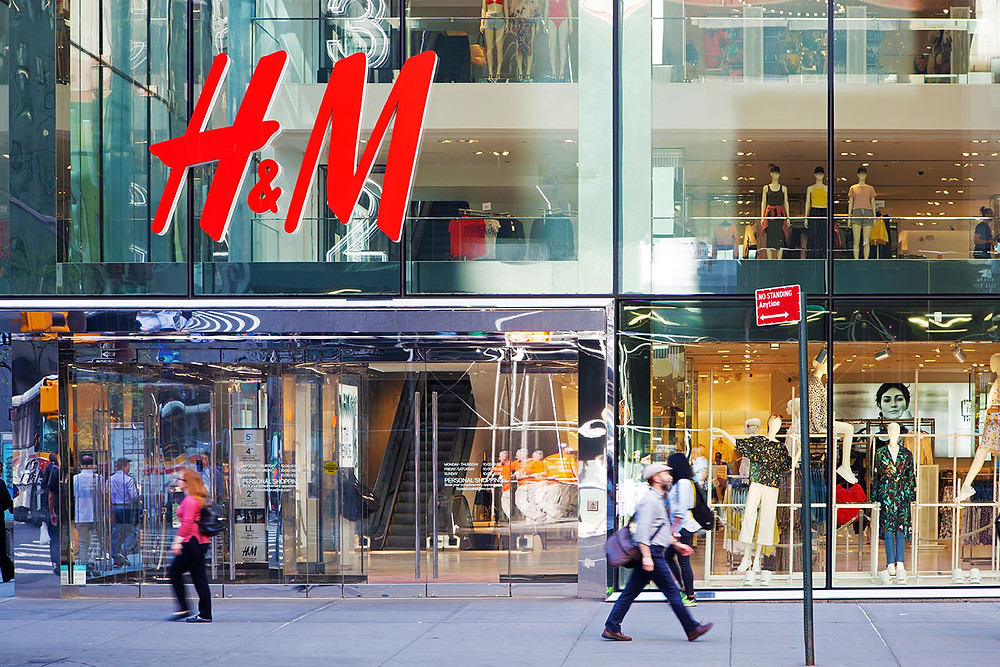 inventory localization retail store H&M