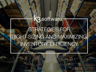 Strategies for Right-Sizing and Maximizing Inventory Efficiency
