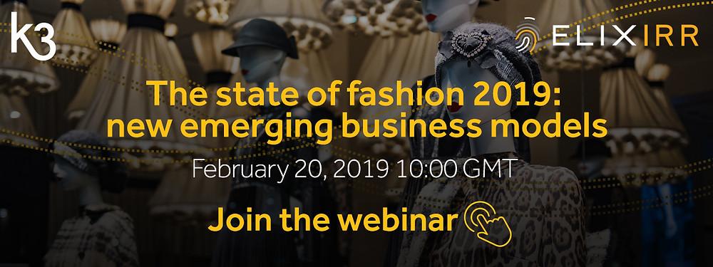 register webinar state of fashion 2019