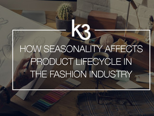 How will seasonality affect product lifecycle in the fashion industry