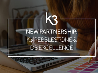 DB Excellence and K3|pebblestone announce partnership to strengthen customers' operations