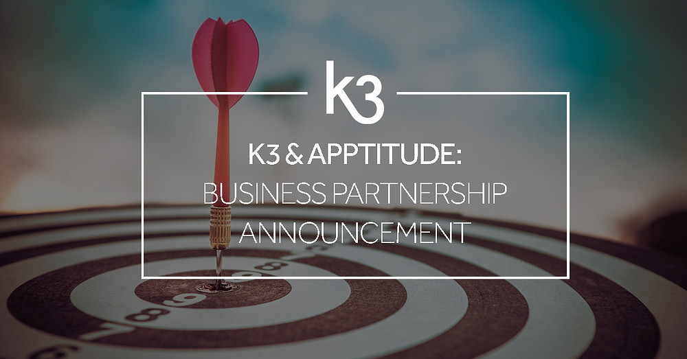 K3 and Apptitude partnership