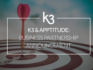 K3 and Apptitude team up to make business better for fashion and apparel clients