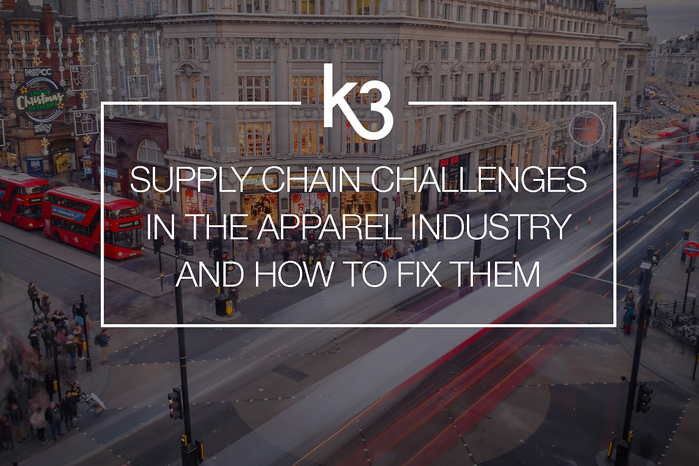 supply chain challenges in apparel industry and how to fix them