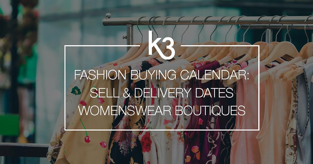 fashion buying calendar boutiques