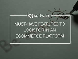Must-Have Features to Look for in an e-Commerce Platform