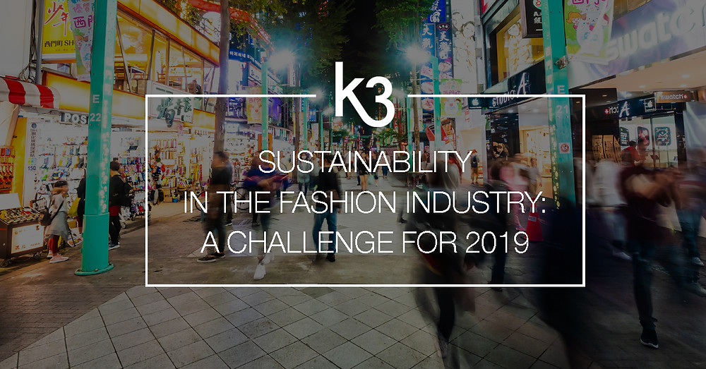 sustainability fashion industry challenge 2019
