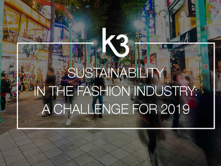 Sustainability in the fashion industry: a challenge for 2019