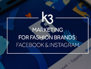 Marketing for Fashion Brands: Facebook and Instagram