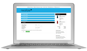 B2C checkout process in REALIZe
