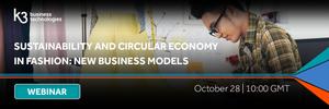 sustainability and circular economy fashion webinar