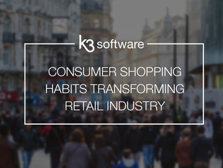 Consumer shopping habits transforming retail industry