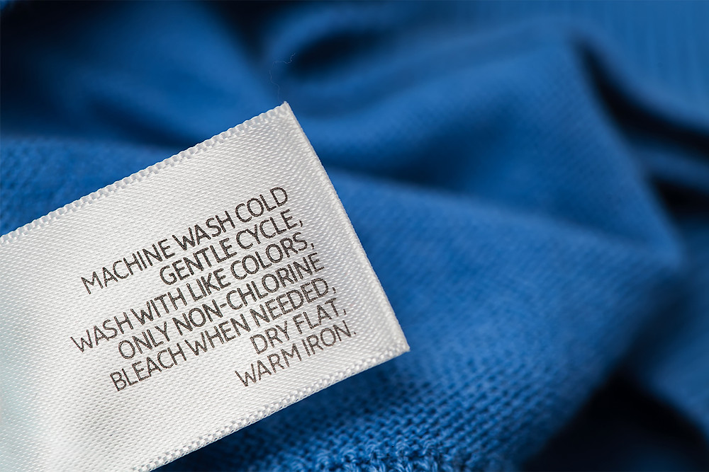 apparel label