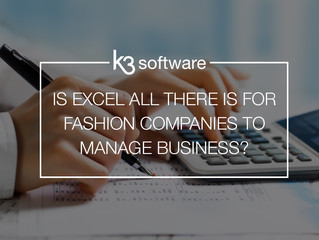 Is Excel all there is for fashion companies to manage their business processes?