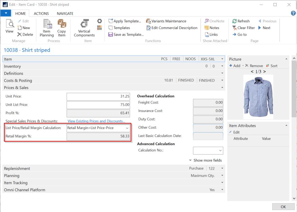 pebblestone fashion ERP retail pricing