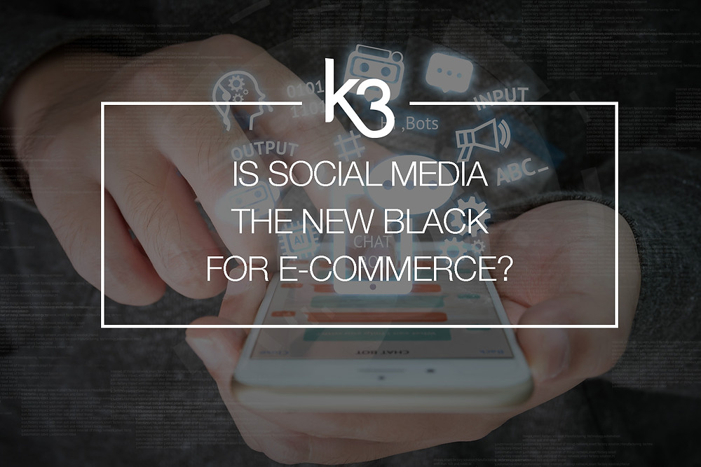is social media the new black for ecommerce