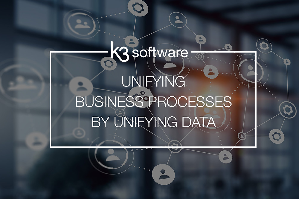 unifying business processes by unifying data