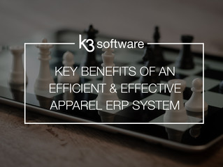 Key benefits of an efficient and effective apparel ERP system